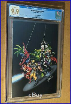 Marvel Comics #1000 1200 JSC Campbell Virgin Variant All Black CGC 9.9 MINT
