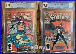 Marvel Super-Heroes Secret Wars #1-12 Lot Including #8 All CGC 9.8 1984