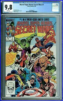 Marvel Super Heroes Secret Wars 1-12 Lot Set All Cgc 9.8 Wp #8 Red Color Strike