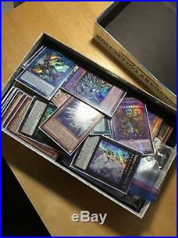 Massive YUGIOH Card Collection (10,000+) All Mint Or Near Mint