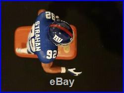 Michael Strahan Danbury Mint All Star Figurines New York Giants Statue Rare