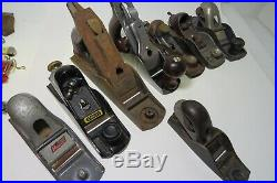 Mixed Lot of hand Planes for parts or repair they all need something