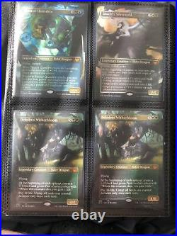 Mtg Collection Binder Lot, 700+ In Value, Staples Across All Formats! NM