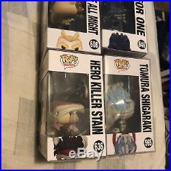 My Hero Academia Funko Pop Lot All Might Hero Killer Shigaraki All For One