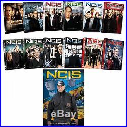 NCIS ALL Season 1-13 Complete DVD Set Collection Series TV Show McCallum Box Lot