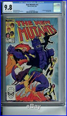 New Mutants Lot 1-31 Cgc 9.8 Key Issues 1 8 9 14 16 18 25 26 27 All Cgc 9.8