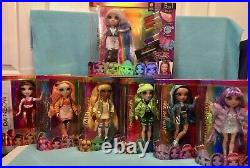 New Poopsie Rainbow High Surprise Collect The Rainbow LOT OF ALL 7 DOLLS