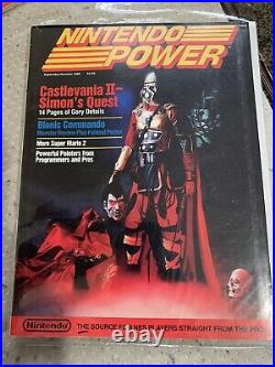 Nintendo Power Magazine Collection Complete All Magazines Lot All Posters