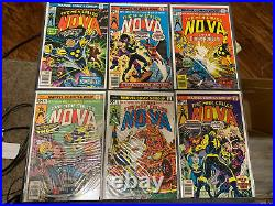 Nova #1-25 Marvel Comic Full Run Lot Nova Corps Hi Grade All Nm (9.0) Or Higher