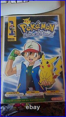 Original Pokemon Issue 1 Gotta Catch Em All Nintendo Magazine Comic RARE/MINT