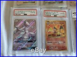 PSA 10/Beckett 10 Card Lot Pokemon &Yu-gi-oh! READ DESCRIPTION FOR ALL DETAILS