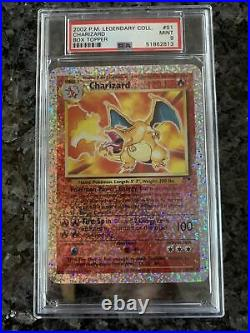 Pokemon 2002 Legendary Collection ALL 4 BOX TOPPERS S1-S4 PSA 9 MINT
