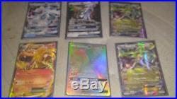 Pokemon Card Lot Ultra Rares all are out of booster packs and tin straight to sl