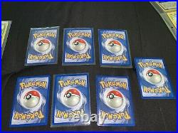 Pokemon Collection Binder Vintage. Almost All Near Mint 1st Edition. Shadowless