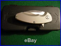 Rare Brous Blades SSFG3 Silent Soldier All Titanium 55/100 MINT