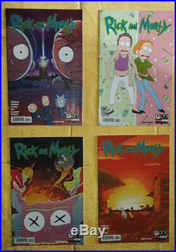 Rick and Morty Comic 1-22 Lil Poopy Superstar ALL 1st PRINT lot Rivk Mort Rock