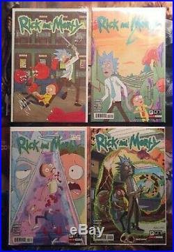 Rick and Morty Issues #1-19 + All Lil Poopy Superstar, Comic Book Collection Lot