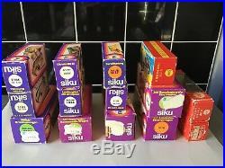 SIKU diecast vintage rare joblot collection all mint boxed superb lot