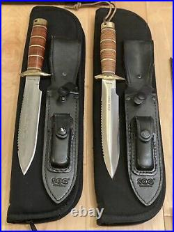 SOG Knife Collection, Rare Pieces, All Excellent Condition, Seki Japan