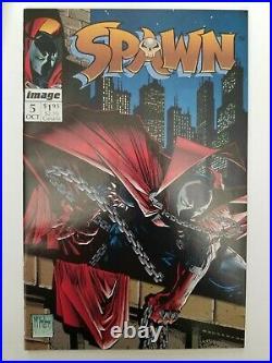 SPAWN Comic Book Lot (50) RUN 1-50 #1-3 &9 all NM. Todd McFarlane 1992 All NM-VF