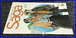 Saga 1-54 Complete Lot Image All first prints NM Bagged and Boarded BKV