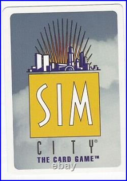 Sale! Sim City Ccg! My Whole Collection 1,394 Cards All Near Mint