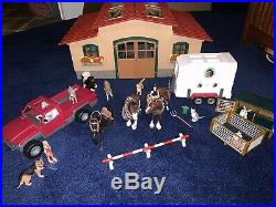 Schleich Stable Horses and MORE! Big Lot of items CHECK OUT ALL PICTURES