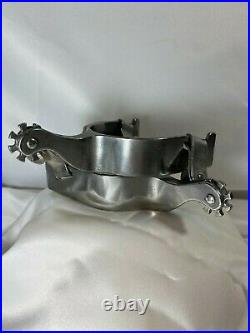 Silver Spur Rodeo All Around Cowboy Trophy Spurs 2013 NOS Mint Custom Hand Made