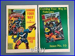 Silver Star 1-4 / #1 Signed By Jack Kirby / All Near Mint