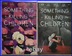 Something is killing the children Lot #1 9.8(1-14 cover A) All 1st prints