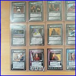 Star Trek CCG 1E All Good Things AGT Complete Set of 41 cards Mint/Near Mint