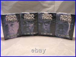 Star Trek Ccg 2e, Second Edition Lot Of All 4 Starter Decks