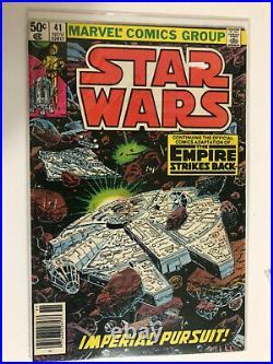 Star Wars 1977 Series Key Issue Lot #1, 39,40,41,42,43,44, 68 & 81 All 1st Print