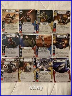 Star Wars Destiny Collection Lot! Very Light Play If At All! Please See Pics