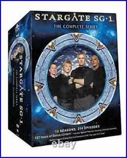 Stargate SG-1 The Complete TV All 1-10 Seasons Series Collection DVD Box Set Lot