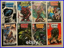 Swamp Thing lot from#1-115 2nd Series all 47 different books 6.0 FN (1982-1992)