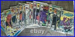 The Amazing Spider-Man Marvel Lot 292-388 All Newsstand Variants NM/M Rare Keys