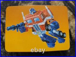 Transformers Action Cards complete set with all cards, stickers. Mint as can be