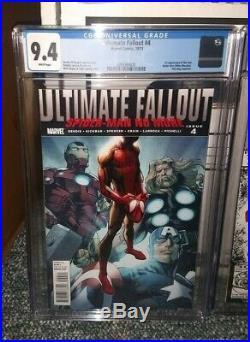 Ultimate Fallout 4 Amazing Spiderman 361 New Mutants 98 All 9.4 CGC Lot