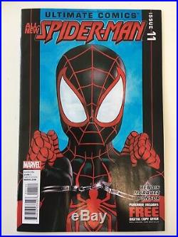 Ultimate Fallout 4 Miles Morales LOT All-New Spider-Man 1st Print 11 Handcuffs