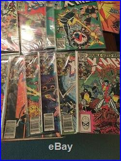 Uncanny X-Men Comic Lot of 73 Classic Comics Starts 134 To 235 Gaps All Bagged