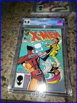 Uncanny X-Men cgc all 9.8 lot #176 179 186 192 195 196 197 CGC 9.8