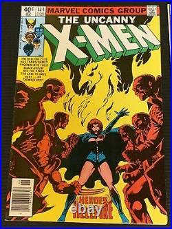 Uncanny X-men Dark Phoenix Lot Of 4 (134, 135, 136, & 137) All Vf+/nm- See Pics