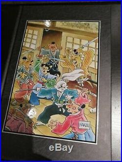 Usagi Yojimbo Saga Hardcover Lot Books 1-7+legends All Signed And Numbered