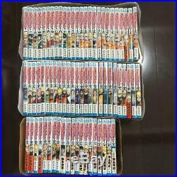 Used MANGA NARUTO Comic Book Vol. 1-72 lot ALL Complete set Japanese Jump Comics