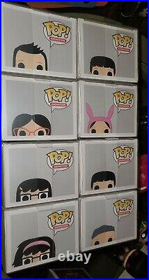 Vaulted Bob's Burgers Funko Lot In Mint conditions! Collect them all at once