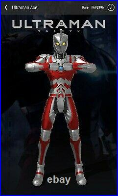Veve NFT Lot! All 1st Appearance. All SOLD OUT! 1 Ace (RARE) 1 Seven 1 Ultraman