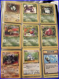 Vintage Pokemon Card Collection Binder Lot ALL 1st Edition WOTC