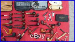 Vintage Tobacco Pipes and Tools Estate Lot AS IS Some Need Repair All Need Clean