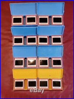 Vintage lot of1500 Random Kodachrome 35mm Color Slides 1940s-70 All Red Borders